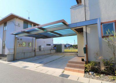 福山市神辺町 Y様邸カーポート工事完成。